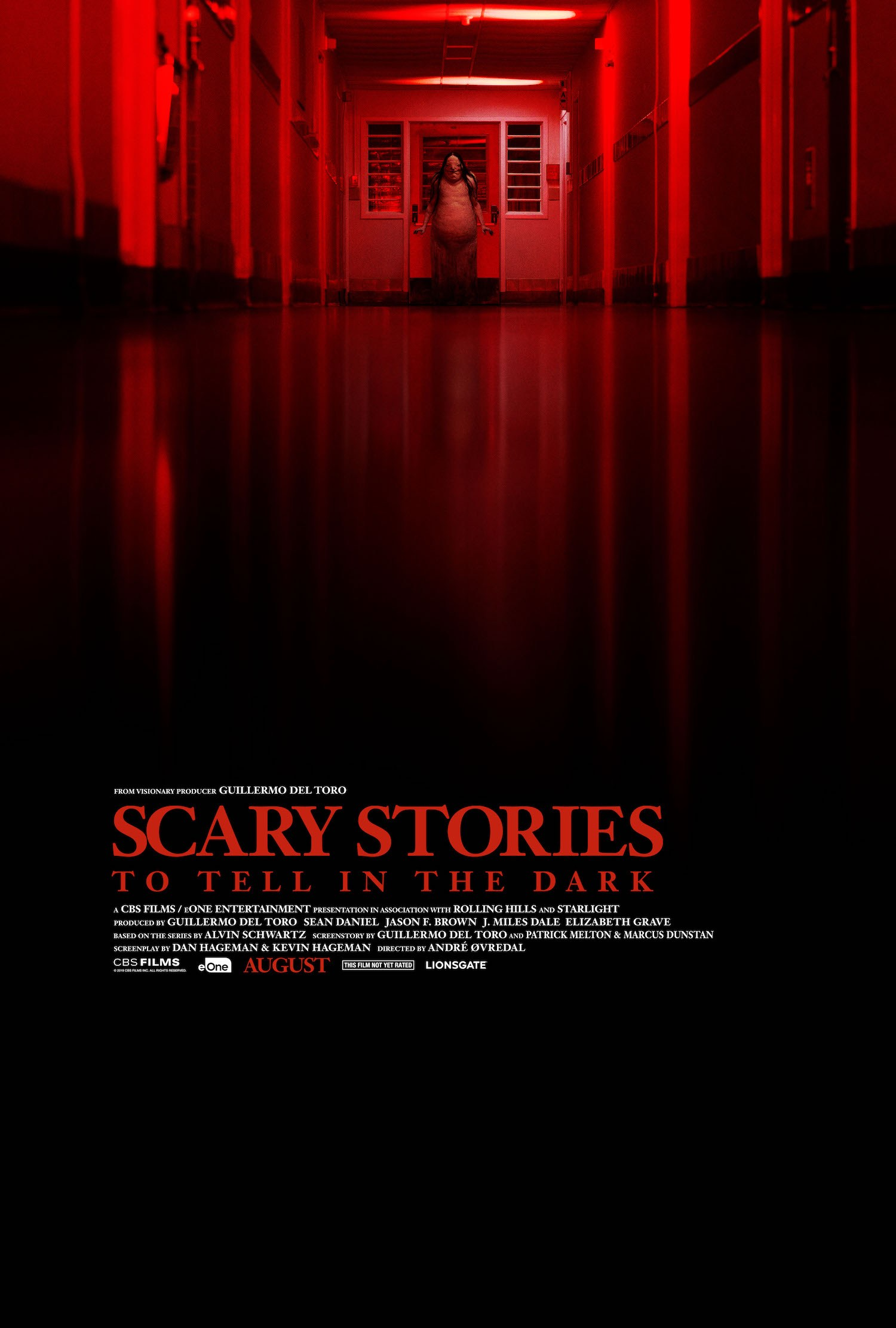 "Zobacz trailer do ""Scary stories to tell in the dark""."