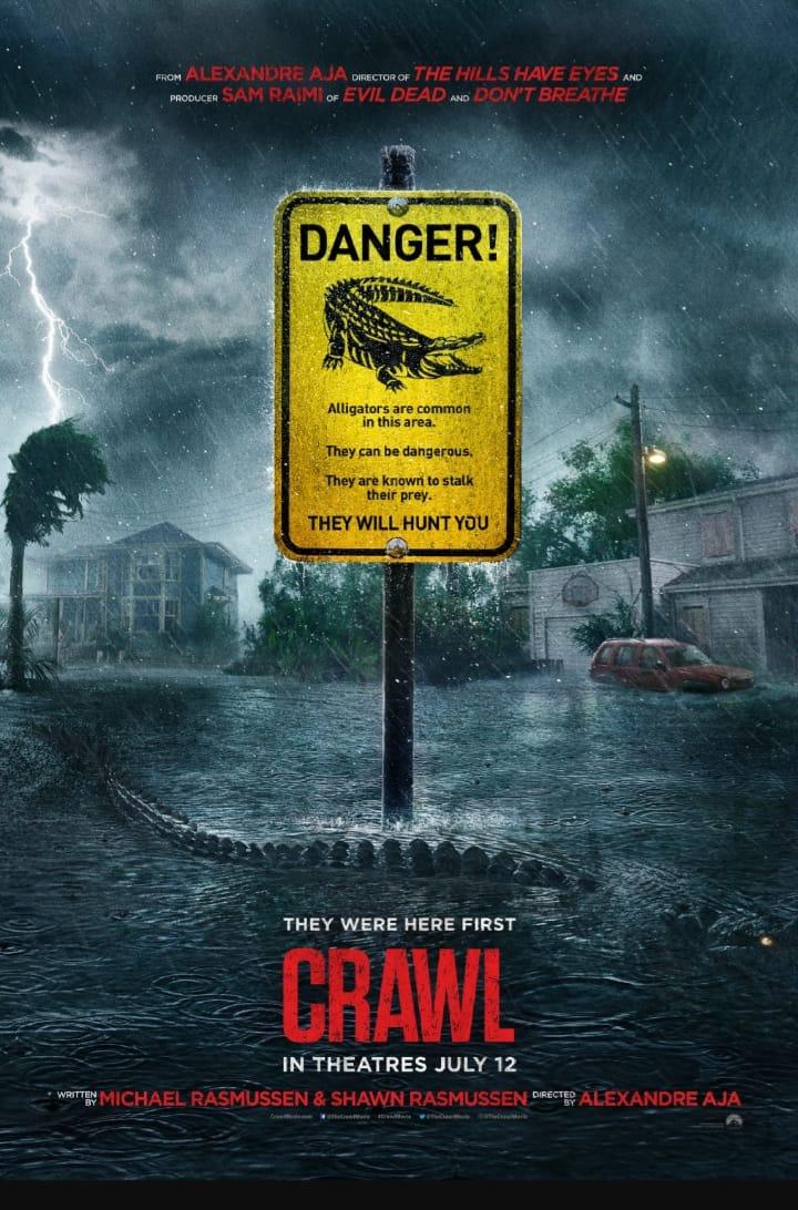 """""""Crawl"""" – czyli krokodyle zaatakują już w lipcu."""