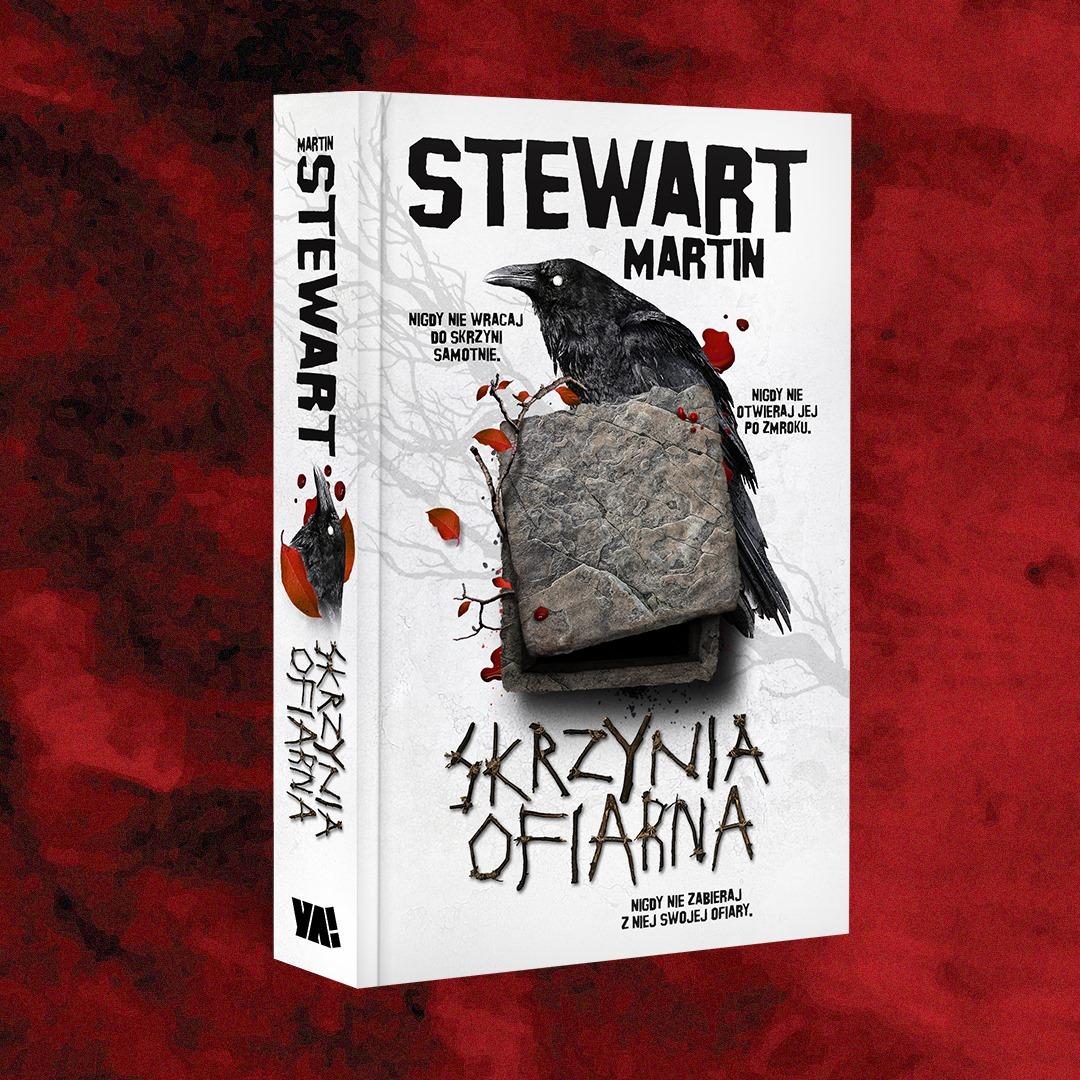 """Ruszyła przedsprzedaż – """"Skrzynia ofiarna"""" autorstwa Stewart Martin."""
