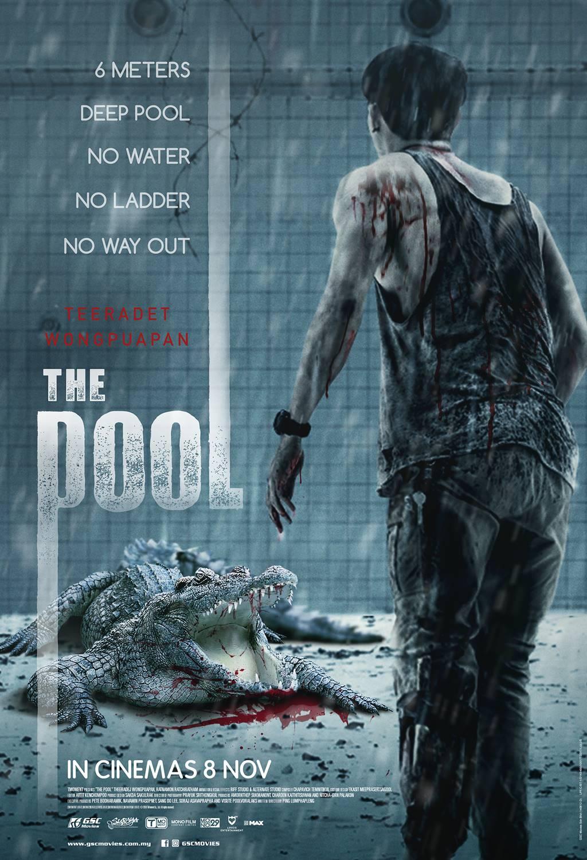 """Aligator w basenie – czyli kilka słów o horrorze """"The Pool""""."""
