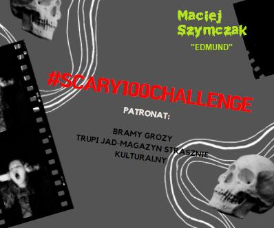 """#scary100challenge – Maciej Szymczak """"Edmund""""."""